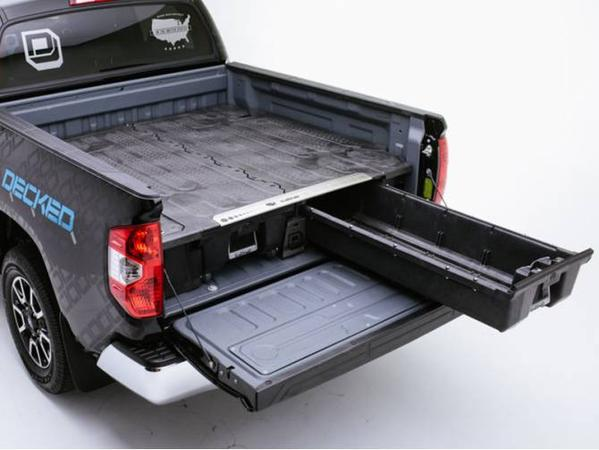Decked Truck Bed Storage >> Cargo Management - Line-X