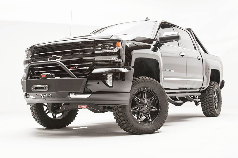 Truck Fender Flares >> Bumper/Winches - Line-X